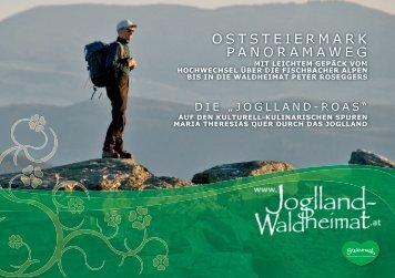 Oststeiermark Panoramaweg - Joglland - Waldheimat