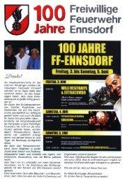 Jahre Ennsdorf - Gemeinde Ennsdorf