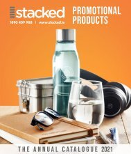 Stacked Promotional Products Catalogue 2021