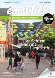 Emsblick Meppen - Heft 44 (Juni/Juli 2021)