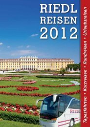 Spreewald - Berlin - Riedl Reisen