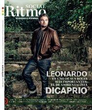Ritmo Social Portada Leonardo Dicaprio 06-2021