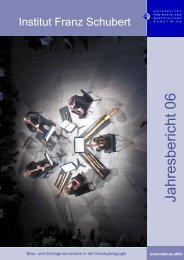 Wilhelm Blazicek und Christian Glanz Konzerte 11.00 + 14.00