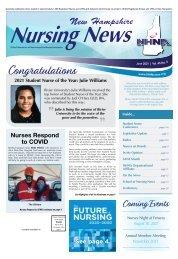 New Hampshire Nursing News - June 2021