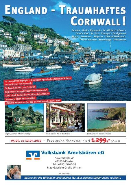 Bankreise im Mai 2012: England - Traumhaftes Cornwall - Volksbank ...