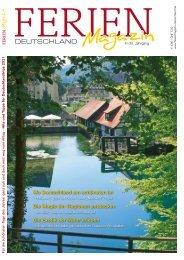 Ferienmagazin Deutschland 2021
