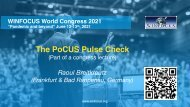 The PoCUS Pulse Check 2021 - or better a direct cardiac view?