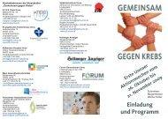 Einladung und Programm - Forum Generationen Unna