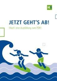 iGZ-Broschüren PDK-Azubi-PDK-Onboarding