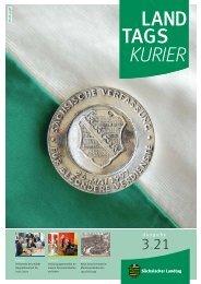 Landtagskurier, Ausgabe 3/2021