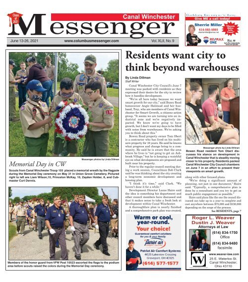 Canal Winchester Messenger - June 13th, 2021