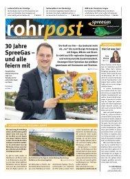 SpreeGas-Cottbus Rohrpost 02-2021