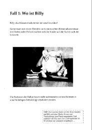 Fallt: Wo ist Billy - StudiGer - TU Dortmund