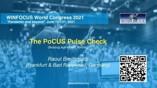 """""""The PoCUS Pulse Check"""" - oder doch lieber auf das Herz schauen?"""