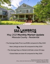 Missoula County Residential - May2021
