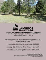 Missoula County Land -May 2021