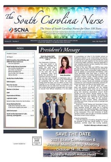 South Carolina Nurse - June 2021