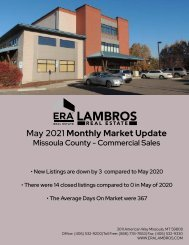 Missoula County Commercial May2021