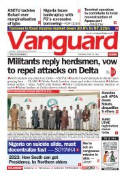 15062021 - Militants reply herdsmen, vow to repel attacks on Delta
