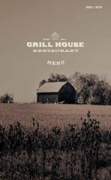 Grill House Menu TAST Spring-Summer 2021 ENG/RUS