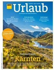 ADAC Urlaub Magazin, Juli-Ausgabe 2021, Württemberg