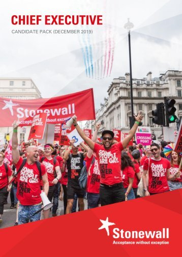 Stonewall CEO - Candidate Pack