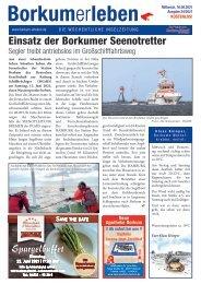 16.06.2021 / Borkumerleben - Die wöchentliche Inselzeitung