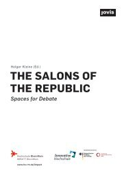The Salons of the Republic