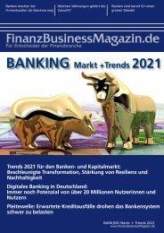 FinnanzBusinessMagazin - BANKING Markt + Trends 2021