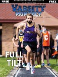 June 2021 Issue of Varsity Monthly Thumb Magazine