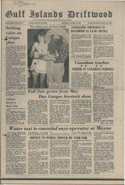 March 24 - Salt Spring Island Archives