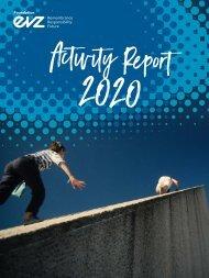 Stiftung EVZ Tätigkeitsbericht 2020 englisch