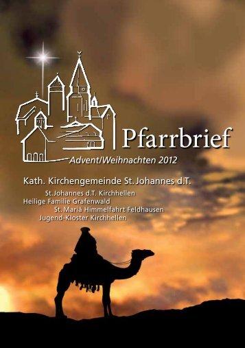 "20 Jahre Stiftung ""Bom-Conselho- Kirchhellen – die Liebe siegt"""