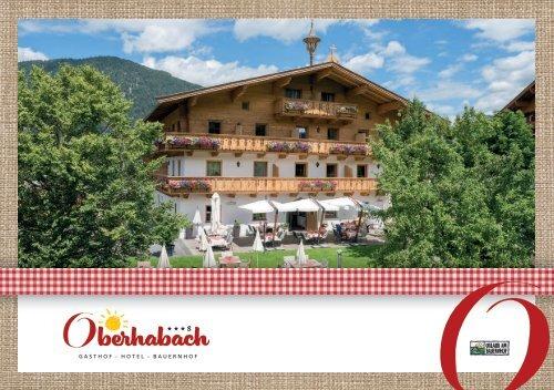 Oberhabach Imagebroschüre