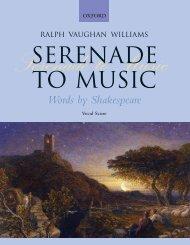 R. Vaughan Williams - Serenade to Music