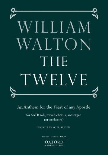 William Walton - The Twelve