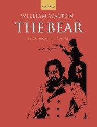 William Walton - The Bear