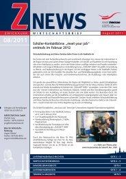 Wirtschaftsbrief 08/2011 - Stadt Zwickau