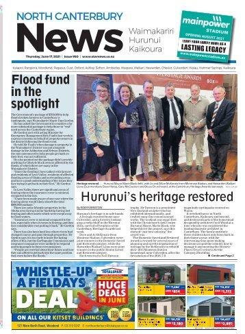 North Canterbury News: June 17, 2021