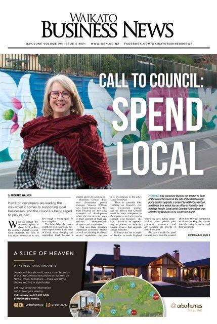 Waikato Business News May/June 2021