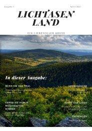 Lichtasenland Ausgabe 1/2021