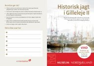 Historisk skattejagt folder