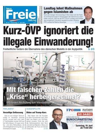 Kurz-ÖVP ignoriert die illegale Einwanderung!
