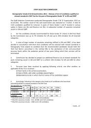 STAFF SELECTION COMMISSION Stenographer Grade (C & D ...