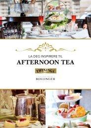 Afternoon Tea brosjyre 2020