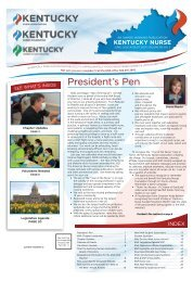 Kentucky Nurse - June 2021