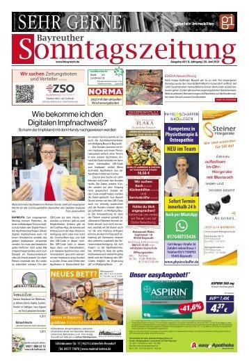 2021-06-20 Bayreuther Sonntagszeitung