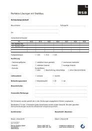 Schrauben-Protokoll