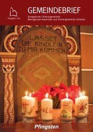 Sommerfest - Evangelische Christusgemeinde Wernigerode-Schierke