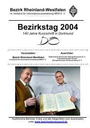 Bezirkstag 2004 - Bezirksstenografenjugend Rheinland-Westfalen